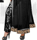 Women's Black party wear salwar suit