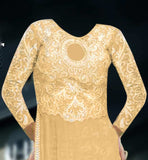 Designer Salwar kameez with trouser type pants
