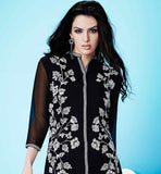 IRRESISTIBLE PARTY WEAR GEORGETTE KURTI WITH SEQUIN