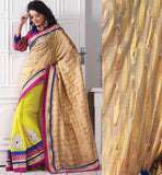 DESIGNER PARTY WEAR SARI WITH ART SILK BLOUSE