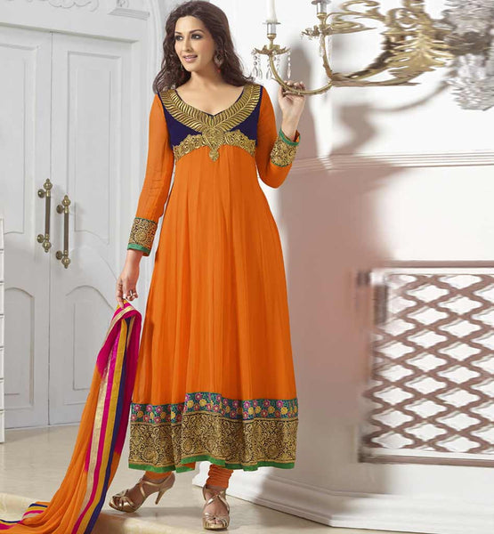 SONALI BENDRE IN ANARKALI FROCK SUITS FOR TEEN GIRLS ONLINE | MOST POPULAR HEROIN OF INDIAN HINDI FILM INDUSTRY SONALI BENDRE LOOKS FABULOUS BECAUSE OF ANARKALI FROCK SUITS NECK DESIGNS    FASHION FOLLOWING TEEN GIRLS SEARCH, CHOICE AND LIKES ENDS AT CELEBRITY FASHION WEAR ANARKALI FROCK SUITS | LATEST DESIGNER DRESSES OF NEW FASHION SHOPPING FROM BOUTIQUE HAS BEEN EASIER THAN EVER. ORDER ONLINE BEFORE IT'S OUT OF STOCK