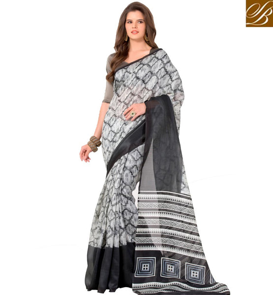 STYLISH BAZAAR ADORABLE INDIAN SAREE ONLINE SHOPPING FOR WOMEN RTELN26