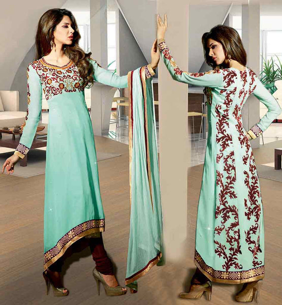 BEAUTIFUL PUNJABI SALWAR KAMEEZ LATEST SUITS DESIGN 2015 COLLECTION