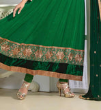 Sonali bendre in glamorous green anarkali