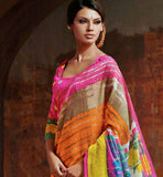 ART-SILK CASUAL SARI RTYAT28011