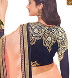 BROUGHT TO YOU BY STYLISH BAZAAR ATTRACTIVE DESIGNER SAREE WITH EYE CATCHING EMBROIDERY WORK RTJM2809