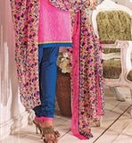 ALLURING PINK COTTON SALWAR SUIT MATERIAL RTALM2912