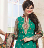 BOLLYWOOD ARTIST AYESHA TAKIA COOL NEW LOOK COTTON DRESS MATERIAL