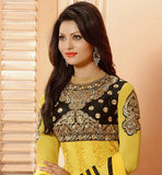 GORGEOUS YELLOW PARTY WEAR SALWAR SUIT