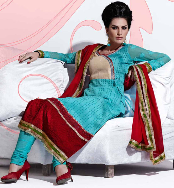 Indian Designer Cotton salwar kameez party wear dress