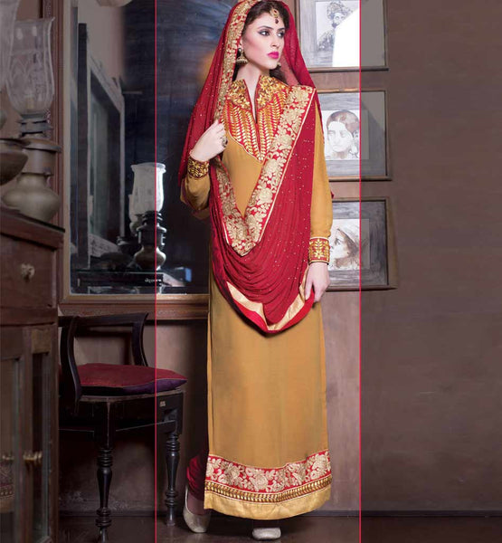 GEORGETTE PARTY WEAR DESIGNER SALWAR KAMEEZ