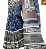 A STYLISH BAZAAR PRESENTATION BEWITCHING INDIAN FANCY SAREE FOR PARTIES RTELN30