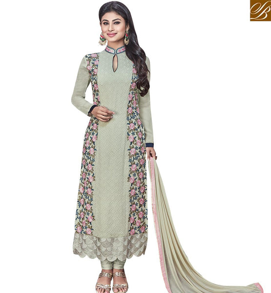 STYLISH BAZAAR STRIKING PISTA COLORED BEAUTIFUL DESIGNER SALWAR KAMEEZ SLNZK30007