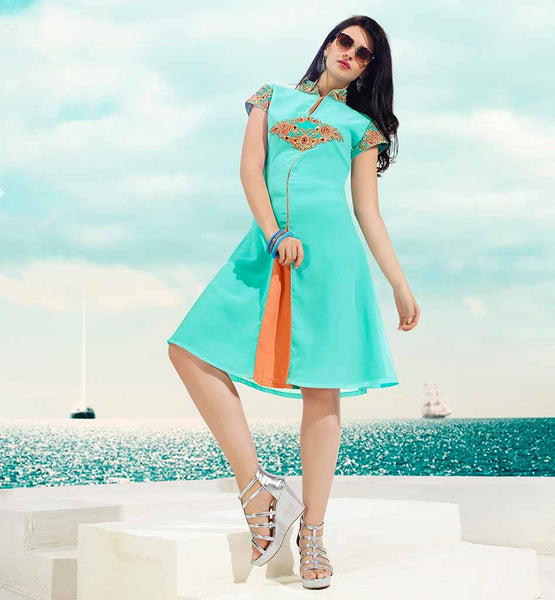 HIGH NECK KURTI DESIGN FOR MODERN INDIAN GIRLS  HIGH NECK KURTI DESIGN FOR MODERN INDIAN GIRLS