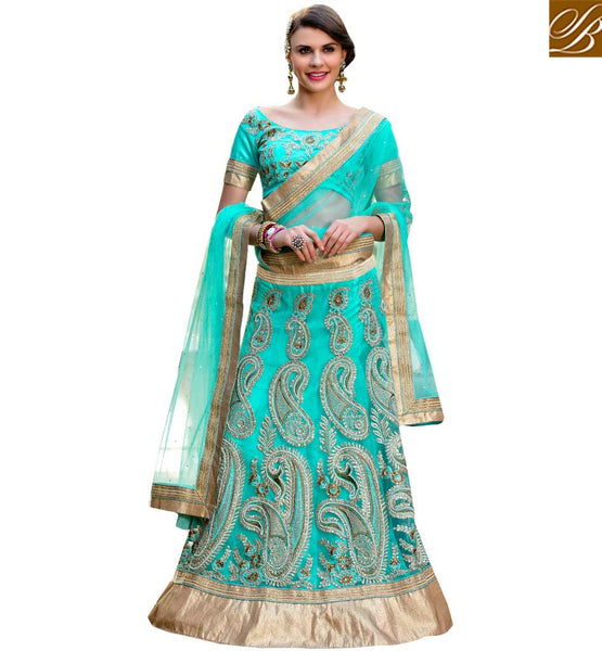 STYLISH BAZAAR FASCINATING LEHENGA SAREE DESIGN FOR MARRIAGE FUNCTIONS RTHYJ3002