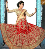 FROM THE HOUSE  OF STYLISH BAZAAR OVERWHELMING GHAGHRA CHOLI DESIGN FOR WEDDINGS KLWD3002