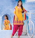 LOVELY PATIALA SALWAR SUIT