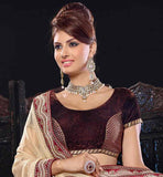 EXCEPTIONAL BHAGALPURI SILK GHAGRA CHOLI WITH PURE CHIFFON DUPATTA