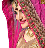 FROM STYLISH BAZAAR EXCELLENTLY DESIGNED GHAGHRA CHOLI DESIGN FOR MARRIAGES KLWD3006