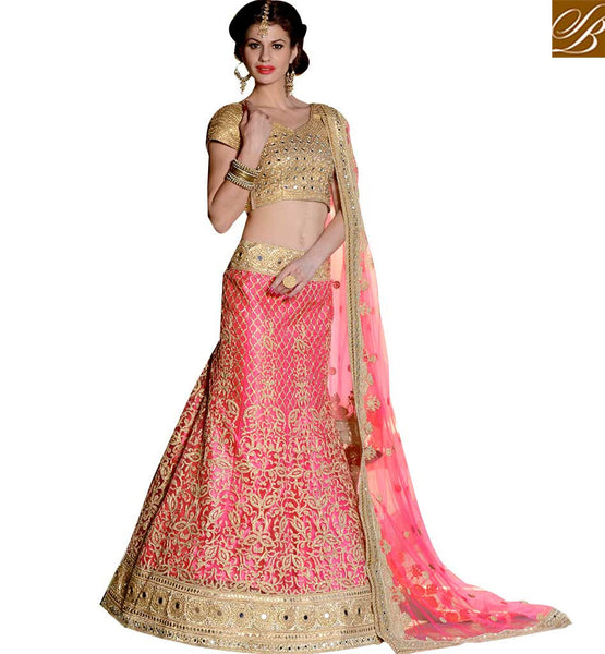 STYLISH BAZAAR INTRODUCES LOVELY 3 PIECE LEHENGA CHOLI DESIGN RTHYJ3006
