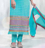 MUGDHA GODSE BLUE STRAIGHT SUIT RTMUG3007 bollywood STRAIGHT salwar kameez dresses