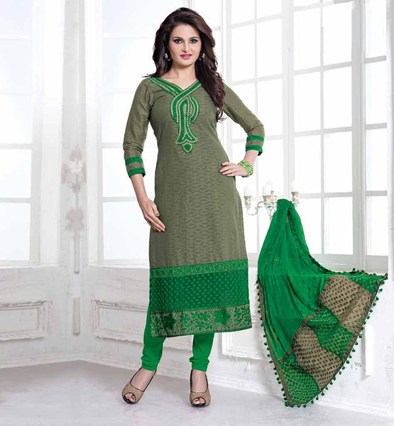 BOLLYWOOD BAZAAR DESIGNER CELEBRITY SALWAR SUIT SMART COLOR COMBINATION MONICA BEDI DRESS