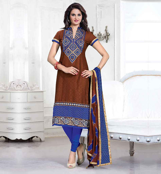 LATEST BOLLYWOOD DRESS DESIGNS FANCY NECKLINE  INDIAN MOVIE CELEB MONICA BEDI DESIGNER SALWAR KAMEEZ