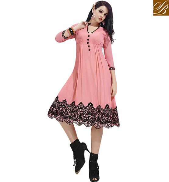ADMIRABLE KURTI DESIGN ESPECIALLY FOR PARTIES VDSCH3015