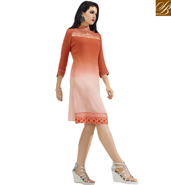 BROUGHT TO YOU BY STYLISH BAZAAR BEAUTEOUS DESIGNER PARTY WEAR KURTI VDSCH3016