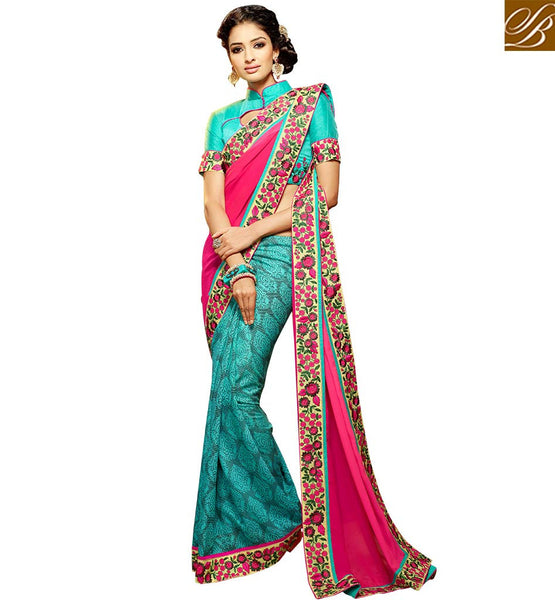 EXQUISITE DESIGNER SAREE DESIGN FOR PARTIES HAW303