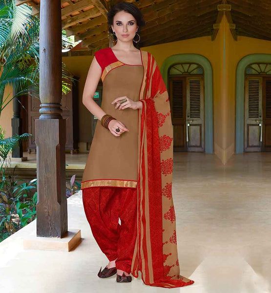 STYLISH PUNJABI SUIT DESIGN OF PATIALA STYLE SALWAR KAMEEZ PATTERN