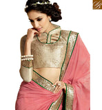 FASCINATING PARTY WEAR DESIGNER SARI BLOUSE DESIGN HAW304 BY GOLD