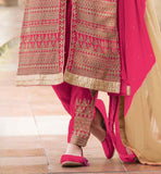 MAKE EVERYBODY PONDER ON THE POINT THAT ARE YOU FROM THE REAL WORLD OR A POET'S IMAGINATION!, WHEN YOU WALK OUT WEARING  BUY LATEST INDIAN SALWAR KAMEEZ WEDDING DESIGNS