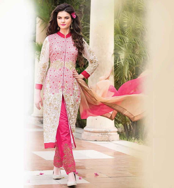SALWAR KAMEEZ SUITS ONLINE SHOPPING PARTY WEAR EMBROIDERED BOTTOM