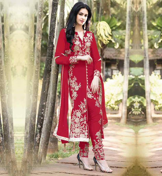 ARTISTIC PARTY WEAR SALWAR SUIT DESIGNS FOR THE FASHION LOVING LADY