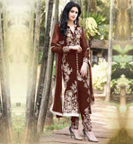 ELEGANT PARTY WEAR SALWAR SUIT MATERIAL ONLINE SHOPPING INDIA