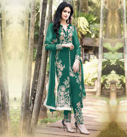 EXQUISITE PAKISTANI STYLE PARTY WEAR SALWAR SUIT BUY ONLINE INDIA