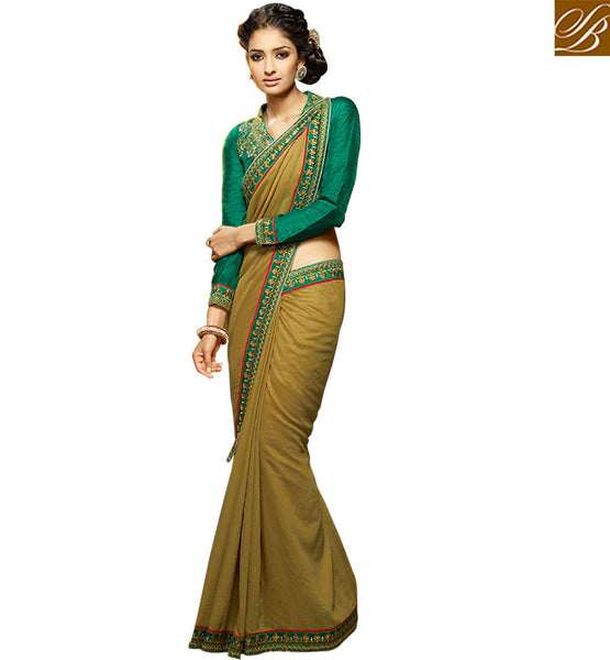 FROM THE HOUSE OF STYLSAH BAZAAR IDEAL DESIGNER SAREE DESIGN FOR PARTIES HAW309