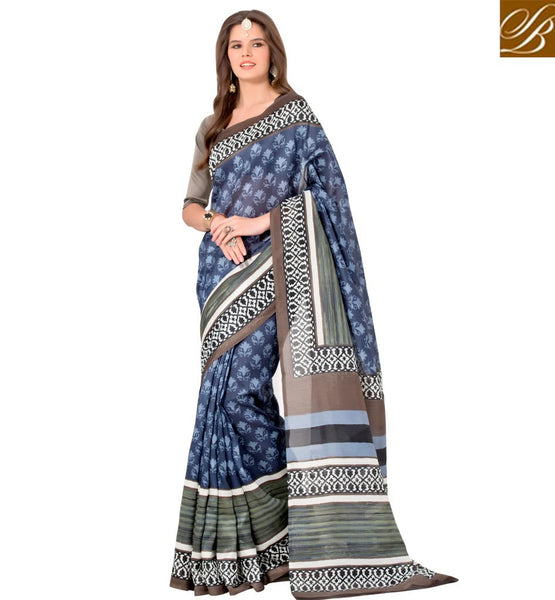 STYLISH BAZAAR BEWITCHING INDIAN FANCY SAREE FOR PARTIES RTELN30
