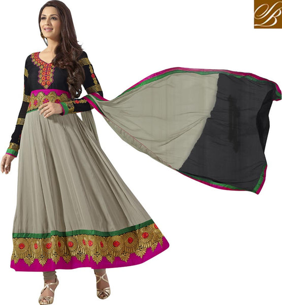 INDIAN ANARKALI SALWAR KAMEEZ DRESS-UP BY BOLLYWOOD ACTRESS SONALI BENDRE NEW INDIAN ANARKALI SALWAR KAMEEZ PATTERNS ONLINE SHOPPING | BUY BOLLYWOOD  DRESS ONLINE