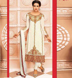 NEW 2015 DESIGN GEORGETTE PARTY WEAR SALWAR KAMEEZ DUPATTA APPAREL
