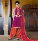 STYLISH BANDHGALA SUIT DESIGN OF PUNJABI SALWAR KAMEEZ PATTERN DRESS