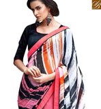 DELIGHTFUL DIGITAL PRINTED SARI RTMEN317 BY STYLISH BAZAAR