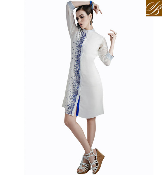 SHOP ONLINE 2015 FASHION SHIRT STYLE KURTI DESIGN VDETC31