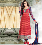 MAROON PARTY WEAR SALWAR SUIT RTURM3201