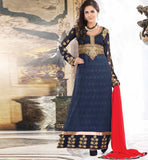 BLUE PARTY WEAR SALWAR SUIT RTURM3206