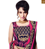 STYLISH BAZAAR INTRODUCES PLEASING CREAM AND PINK DESIGN KEEP A GLAMOROUS LOOK WITH WELL EMBROIDERY SLMN3218