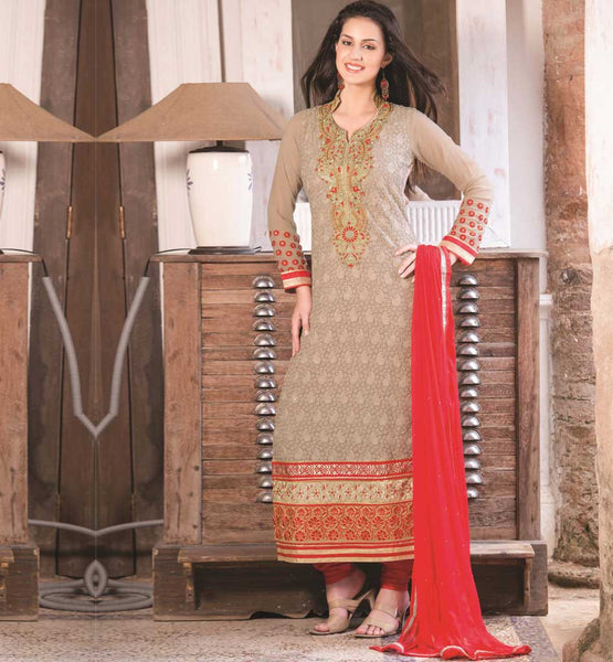 CHIKOO PARTY WEAR SALWAR SUIT RTAAK3301
