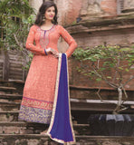ORANGE PARTY WEAR SALWAR SUIT RTAAK3303