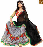 GRACEFUL DUAL COLOR DESIGNER SARI VDMNK3304 BY BLACK & GREY